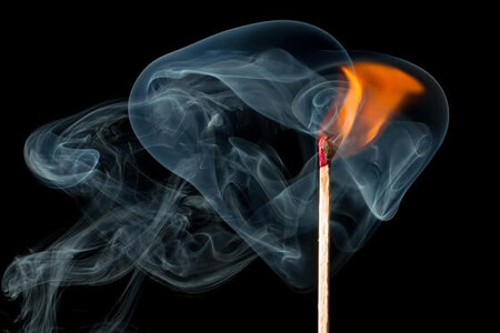 Rauchmelder Test